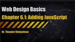 Web Design Basics: Adding JavaScript