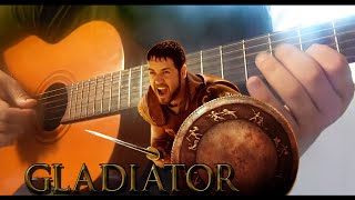thema -Gladiator- Now We Are Free Fingerstyle  acoustic Guitar Willian lima