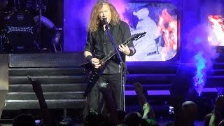 Megadeth - Symphony of Destruction - Las Vegas 2-26-16