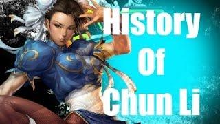 History Of Chun Li Street Fighter V width=
