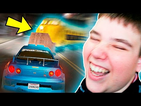 HOW TO STOP THE TRAIN IN NFS UNDERGROUND!! (100% WORKING)