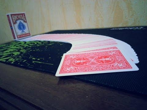 خدع الورق - حركة داينمو شافيل - dynamo shuffle