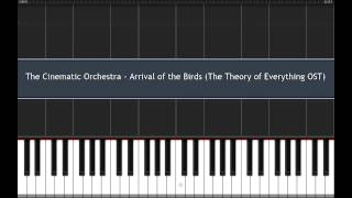 The Cinematic Orchestra - Arrival of the Birds | Synthesia Piano Tutorial