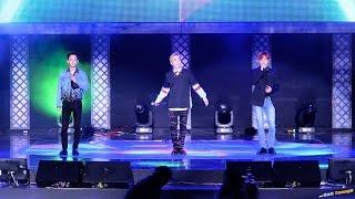 161118 블레이드 & 소울 월드 챔피언쉽 N-POP 쇼케이스 - EXO-CBX 'Crush U' 직캠 by DaftTaengk