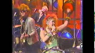 Cyndi Louper - Girls Just Want To Have Fun, Live, The Tonight Show - March 1, 1984
