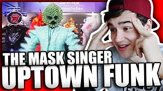 Uptown Funk - V.Dance รวมหน้ากาก | THE MASK SINGER THAILAND Reaction