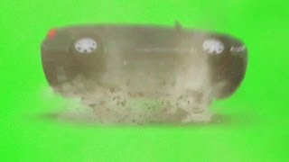 Car Crash On Green Screen ( Download In The Description)