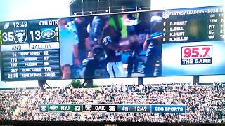 OAKLAND! Marshawn Lynch goin STUPID DUMB N HYPHY, Bring That Town $hit Back Raiders vs Jets 9/17/17