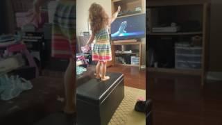 Amara's Moana Dance