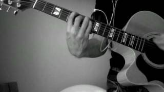 Never Gonna Be Alone by Nickelback (Acoustic Cover) How to play video.