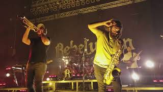 ROOTS REGGAE MUSIC ~ REBELUTION  EXPRESS LIVE IN COLUMBUS OH  1/18/18