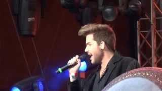 Adam Lambert - Ghost Town @ Live Aid Suomi 06.06.15
