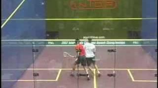 Squash - Ashour vs Lincou