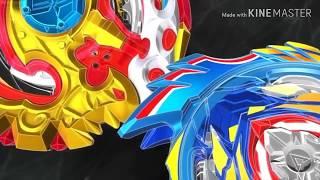 Shu Vs Valt (Rematch) Beyblade Burst Evolution -Episode 51