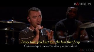 Sam Smith - Too Good At Goodbyes (Sub Español + Lyrics)