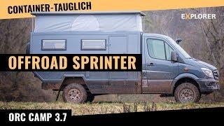 Sprinter 4x4 Wohnmobil mit Hubdach [Containertauglich]