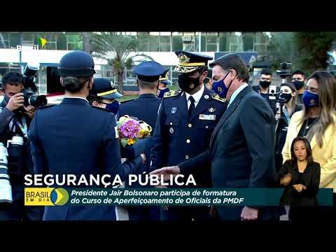 Curso de Aperfeiçoamento da Polícia Militar do DF forma 32 capitães