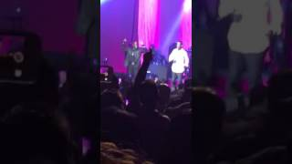 Johnny Gill dropping by Keith Sweat concert in Washington, DC
