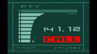 Metal Gear Solid Codec [Incoming Call]