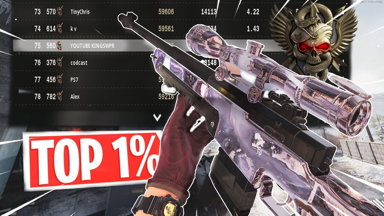 KingSwpr - what TOP 1% SNIPING ONLY looks like on Black Ops Cold War.. (insane)