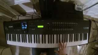 Hillsong - Young & Free - Brighter - Tutorial - Synth Solo
