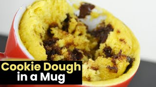Delicious Cookie Dough in a Mug