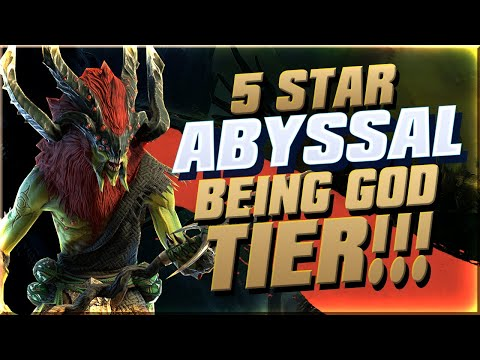 5 Star Abyssal Being A Legend for 8 Minutes I Raid Shadow Legends