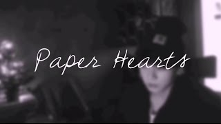 "BTS Jungkook - ""Paper Hearts"" Cover (Eng Lyrics)"
