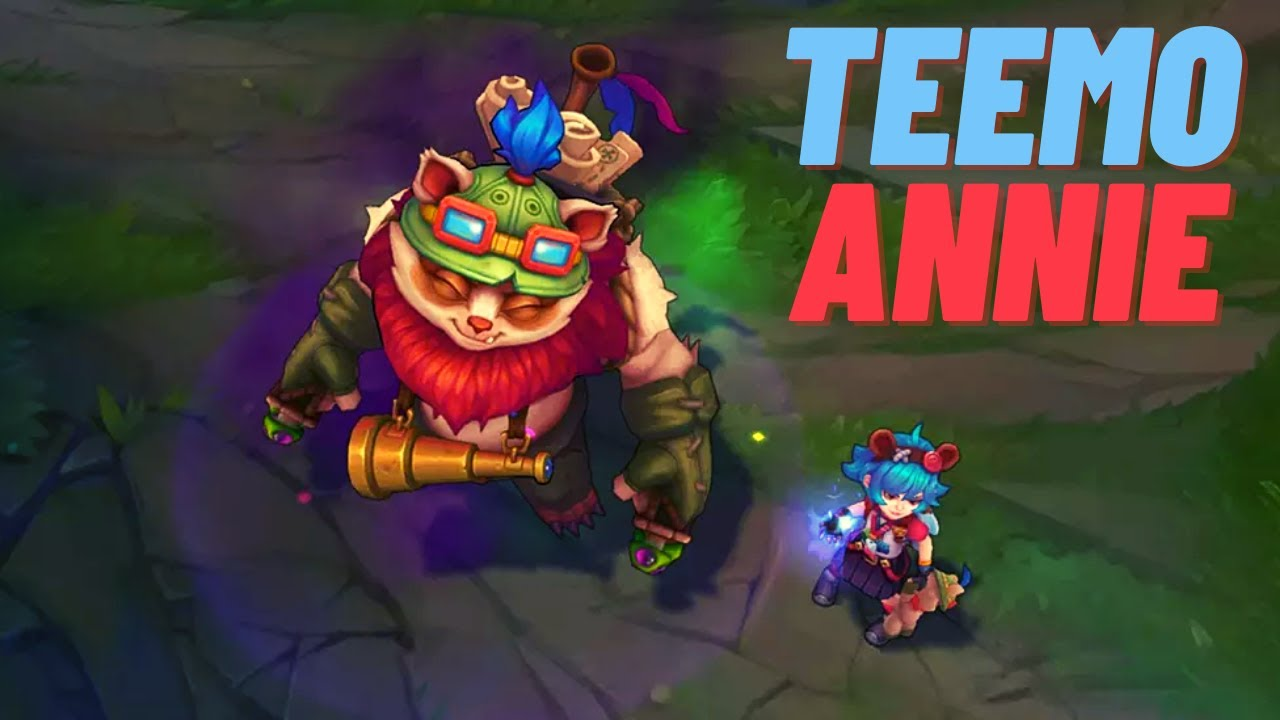 ipav999 - Never Give up. [Teemo vs Annie] [Full Gameplay]