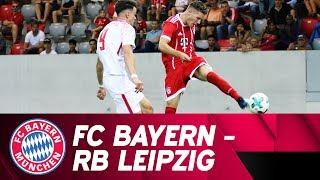 FC Bayern vs. RB Leipzig 3-0 | Highlights | Under-17 Semi-Final - First Leg