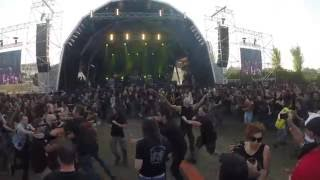 "WALL OF DEATH in ""Vektor"" @ Vagos Metal Fest 2016, Portugal"