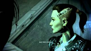 Mass Effect 3 - Jack and Femshep Lesbian Romance Part 1