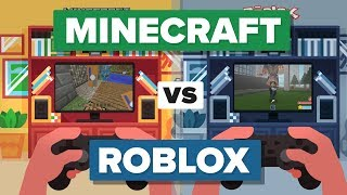 Minecraft vs Roblox - How Do They Compare? - Video Game Comparison width=