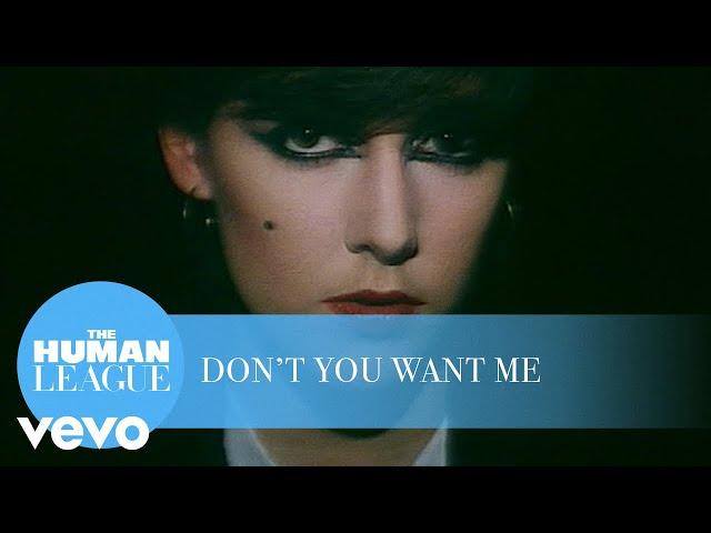Vídeo de Don't You Want Me de The Human League