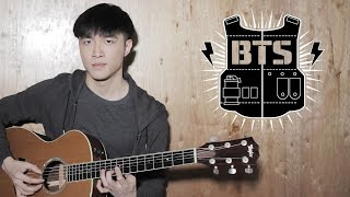 BTS (V x Rap Monster) - '4 O'Clock (네시)' Guitar Cover