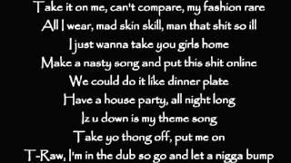 Kid Ink feat Tyga Iz u down Lyrics