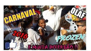 BAILINHO DE CARNAVAL , FROZEN , YOUTUBERS MIRINS RJ