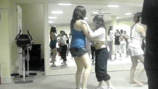 Bailando merengue parte 1