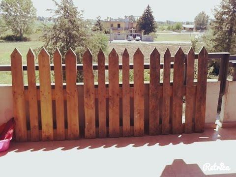 Come costruire un recinto in legno per l 39 orto fai da te for Costruire recinto per cani
