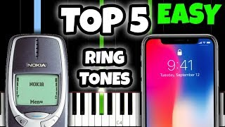 TOP 5 RINGTONES OF ALL TIME... And HOW TO PLAY THEM!