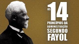 Os 14 princípios da Administração segundo Fayol