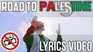 Khāled Siddīq - Road to Palestine   LYRICS VIDEO   Vocals Only (No Music)