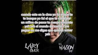 mi mundo letra Lary Over ft Zion y Lennox