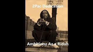 Witnezz   Ambitionz Az a Ridah 2017 2pac Dedication