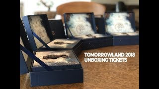 TOMORROWLAND 2018 - UNBOXING TICKETS