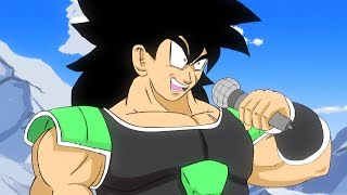 Broly vs Goku and Vegeta RAP BATTLE!