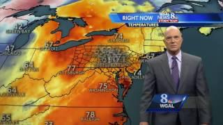 Sunshine makes a comeback! Temps hit 80-degree mark