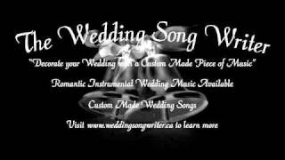 THE WEDDING MARCH- MUST HEAR custom version piano music-  -- Wedding Songwriter Version