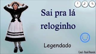 Cristina Mel (Infantil) - Sai pra lá Reloginho (Com letra)