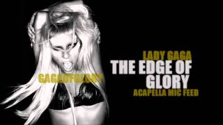 Lady Gaga - The Edge Of Glory (SNL Mic-Feed) Acapella hd live VEVO mtv